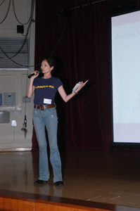 Lo Sze Ping, our Campaign & Communications Director reported our work ...